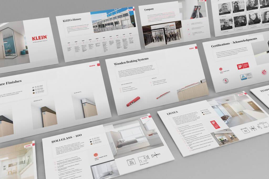KLEIN Sales Presentation
