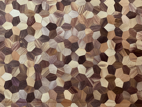 Tiles made from sustainable products